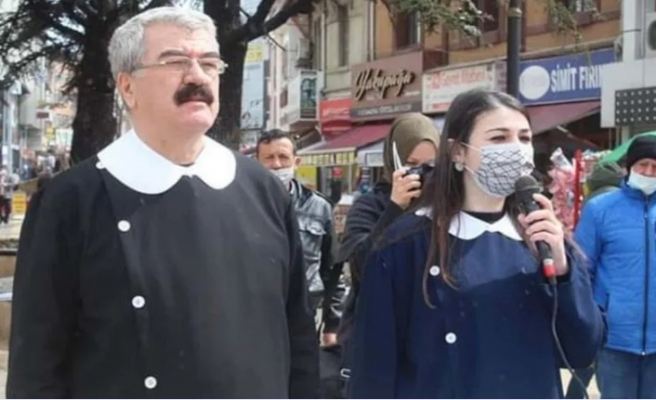 İYİ Partililer önlük giyip 'Andımız' okudu | PolitikYol Haber Sitesi